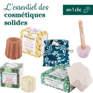 """Kit """"l'essentiel des cosmétiques solides"""" L000202"""