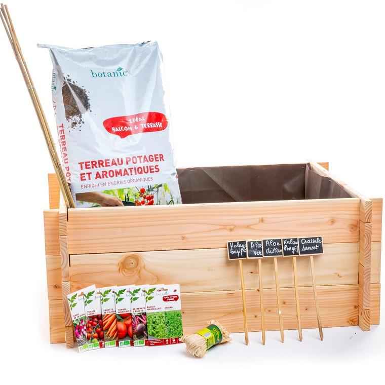 Kit potager prêt à planter L000092