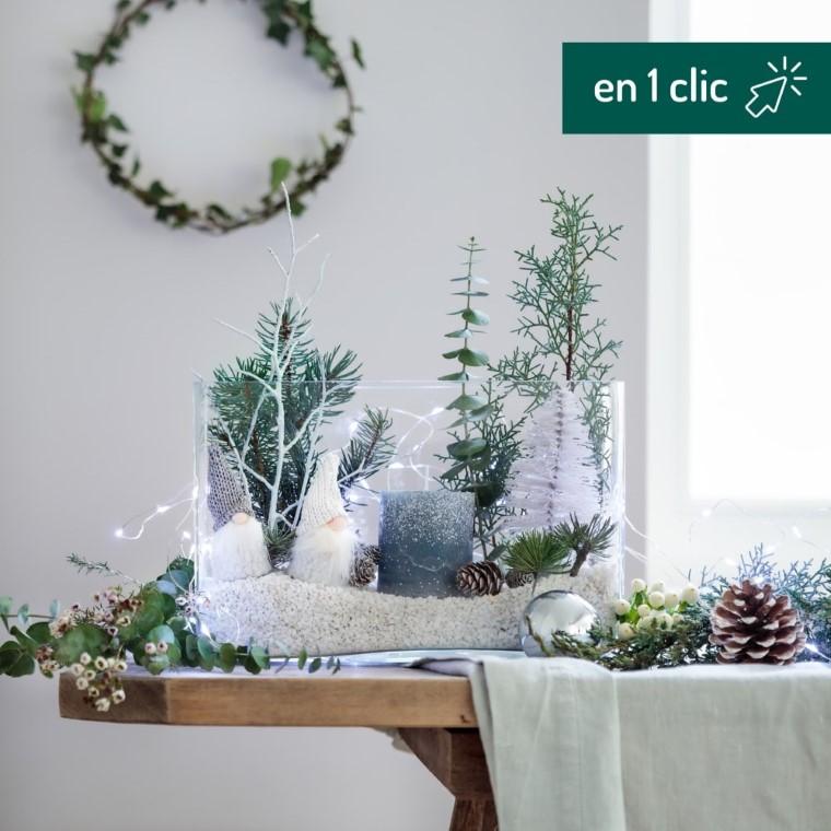 Lot pour fabriquer mon LumiNoël botanic® L000182