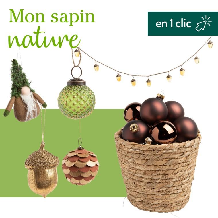 Lot décoration du sapin Nature botanic® L000189