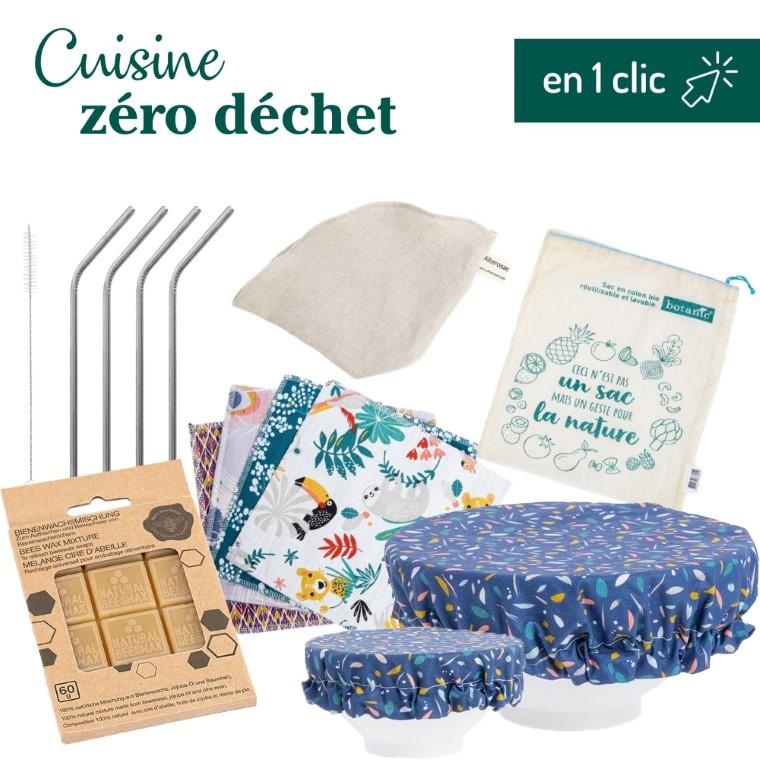 """Kit """"ma cuisine zéro déchet"""" L000195"""