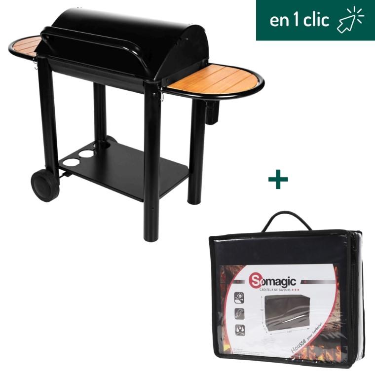 Barbecue Grand Chef et sa housse de protection L000242