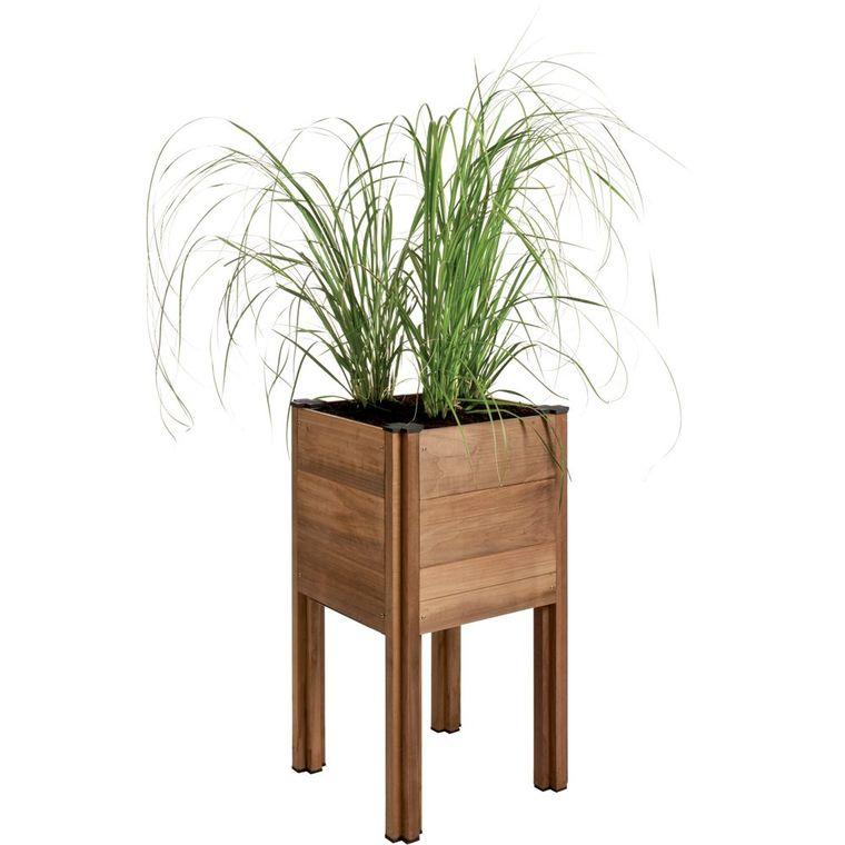 carr potager sur lev byo 45x45x81 cm potagers en carr potager botanic. Black Bedroom Furniture Sets. Home Design Ideas