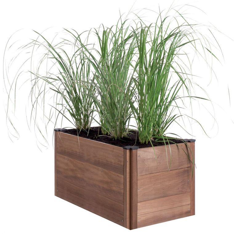 carr potager poser byo 45x90x41 cm botanic. Black Bedroom Furniture Sets. Home Design Ideas