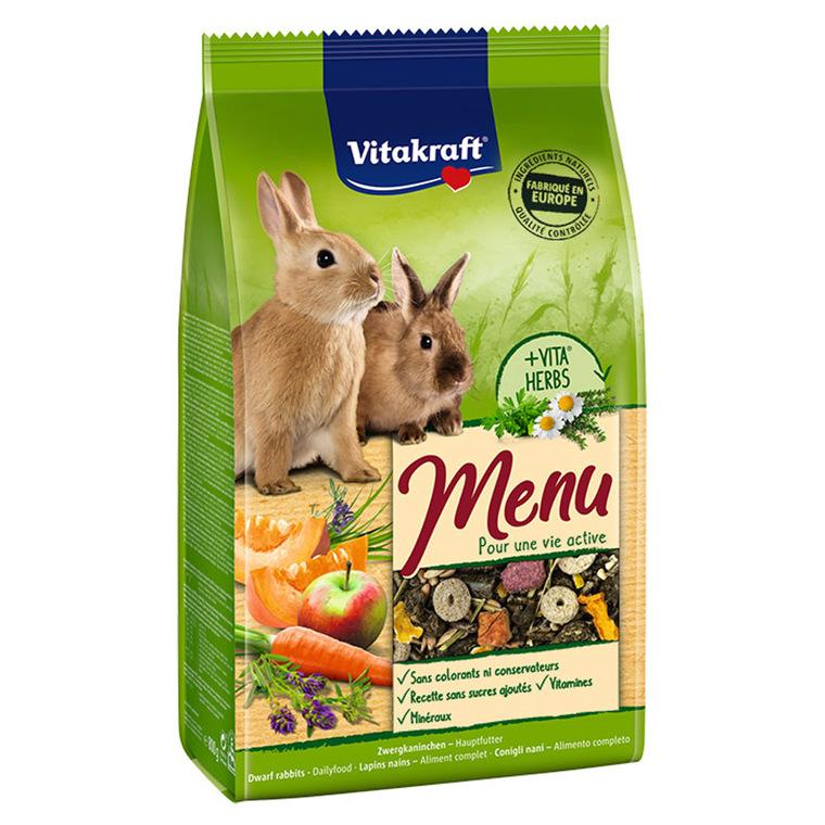 Menu Super Premium pour Lapin Nain en sac de 4 kg