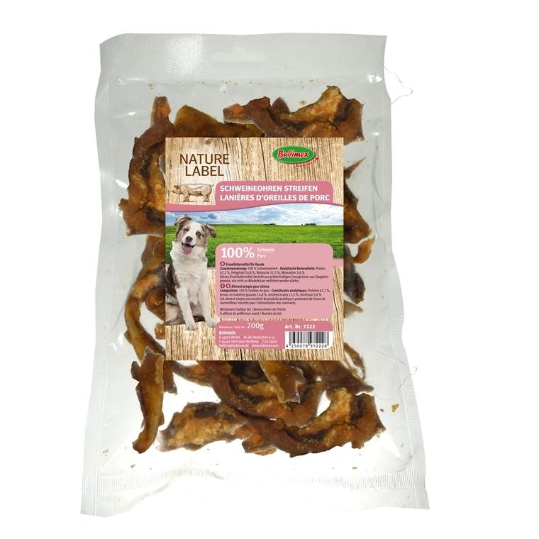 Chips d'oreille de porc Bubimex 200 g
