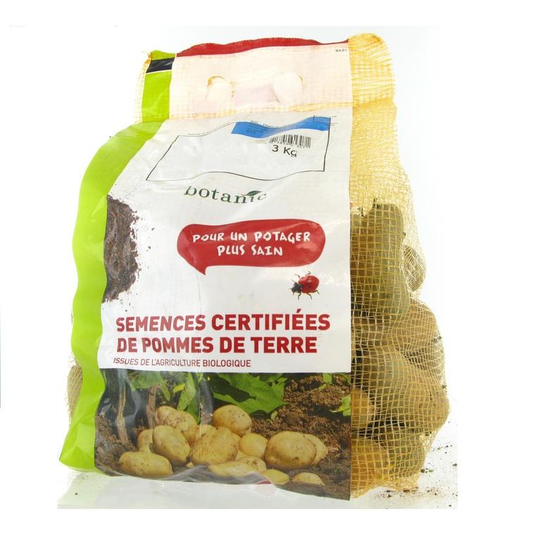 Pommes de terre Charlotte bio calibre 0001, 3 kg