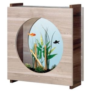 Aquarium aquafashion noyer fonc oyer clair 20l for Aquarium botanic