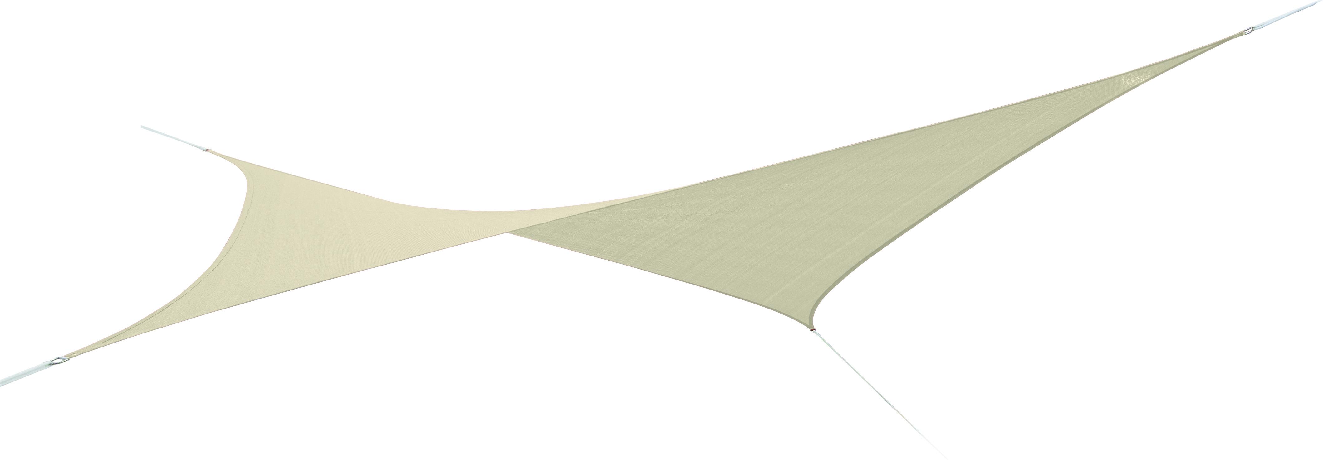 voile ombrage sable 3 6m carr e austral parasols voiles. Black Bedroom Furniture Sets. Home Design Ideas