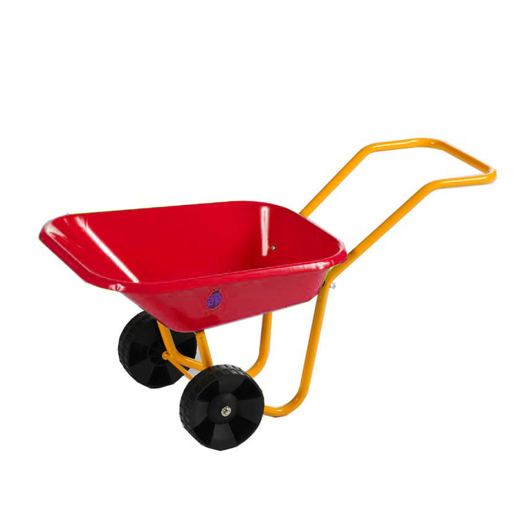brouette en m tal pour enfant rouge outils de jardinage. Black Bedroom Furniture Sets. Home Design Ideas