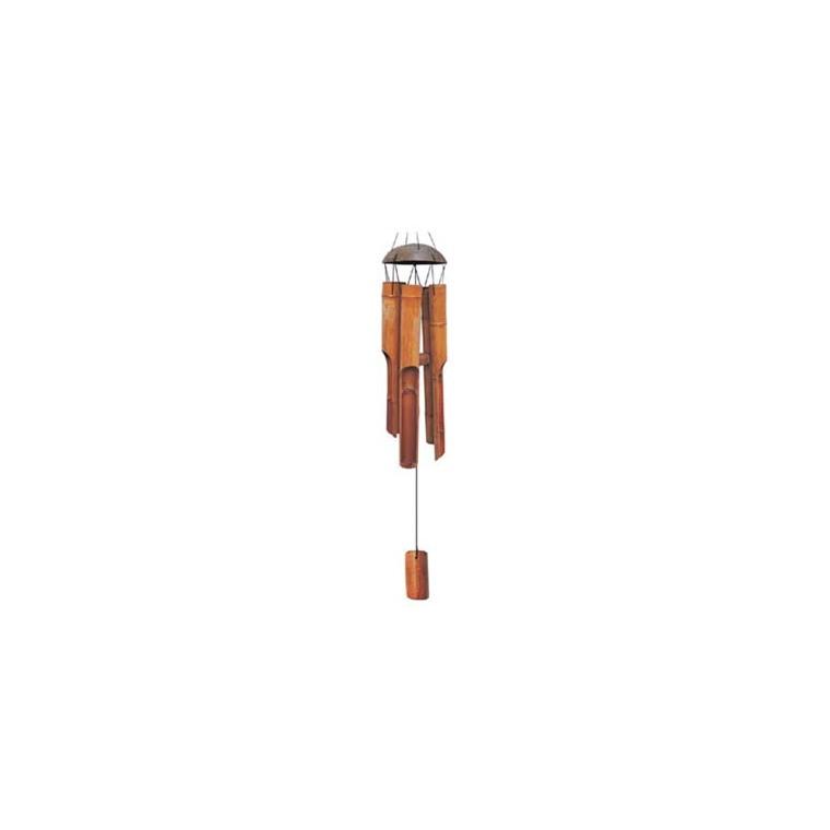 Carillon bambou, H 30 X Ø 11,5 cm