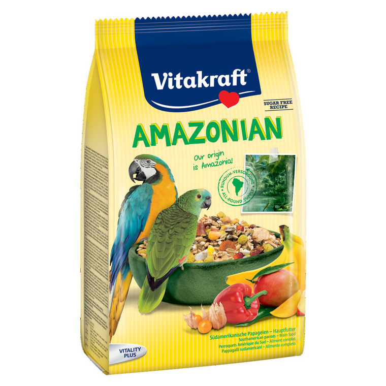 Mélange Perroquets Amazonian Vitakraft 750g