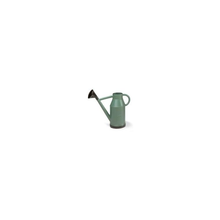 Arrosoir rond lyonnais vert métal de 11 litres