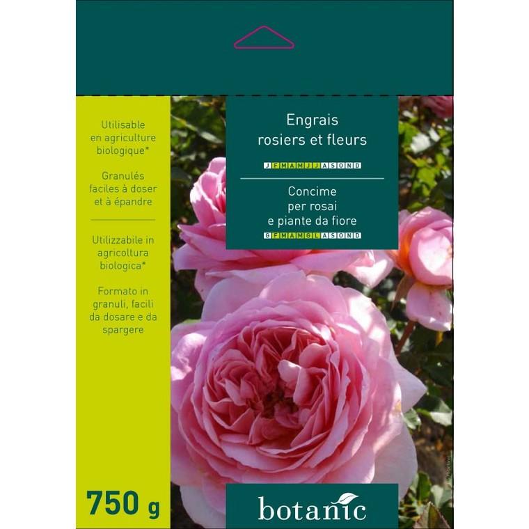 Engrais 750g rosiers et fleurs