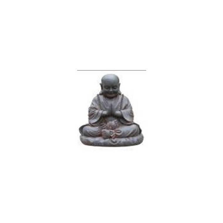 Statue happy Buddha, 28,5 x 27 x 48 cm