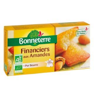 Financiers aux amandes pur beurre 150 g BONNETERRE