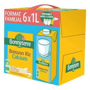 Boisson riz calcium 1 L BONNETERRE