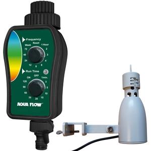 Programmateur d'arrosage avec détecteur de pluie