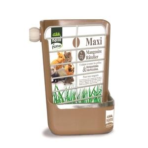 Maxi mangeoire ratelier beige 102379