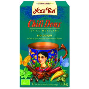 Yogi tea chili doux.17 sachets