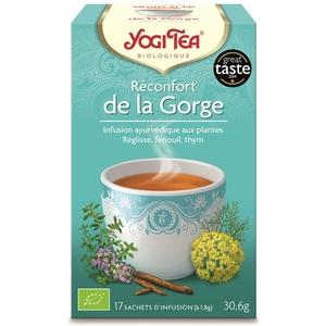 Yogi Tea Réconfort de la gorge - 17 sachets 103089