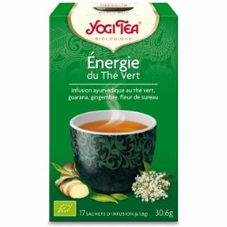 Yogi Tea Energie du Thé vert - 17 sachets 103101