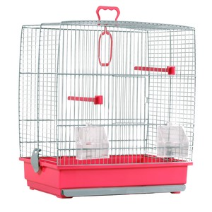 Cage oiseaux Charlotte rose