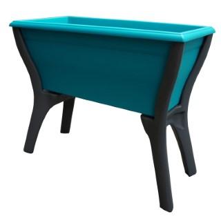 Mon espace potager enfant turquoise L64 x l32