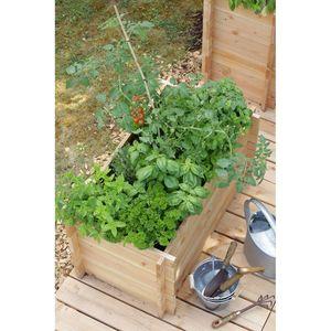 potager carr 90x60cm 130 l botanic. Black Bedroom Furniture Sets. Home Design Ideas