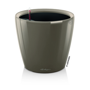 Pot à réserve d'eau Classico Taupe Ø.35 x H.33 cm 105508