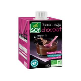 Dessert soja chocolat SOY