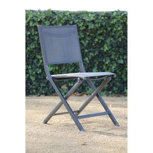 Chaise pliante de jardin Minéral
