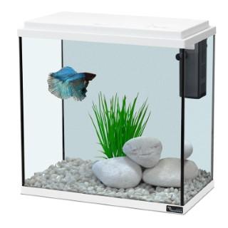 Aquarium kit 35 blanc 18L