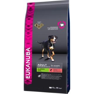 Croquettes pour chien adulte eukdog au saumon 12 kg 108121