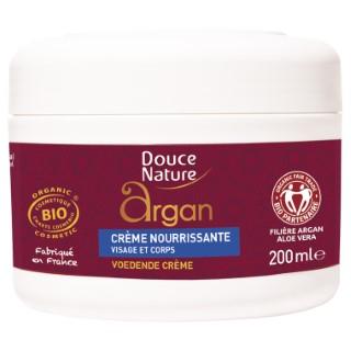 Crème nourrissante argan DOUCE NATURE