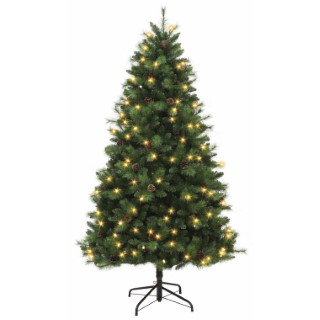 Sapin artificiel + led