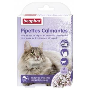 Pipettes calmantes pour chat x 3 109346