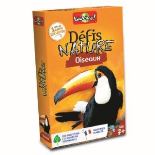 Boite de jeu Défis Nature sur le thème des oiseaux