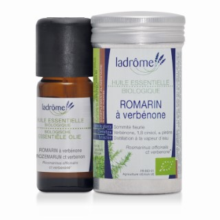 Huile essentielle bio de Romarin à verbénone Ladrôme - 10 ml 113000