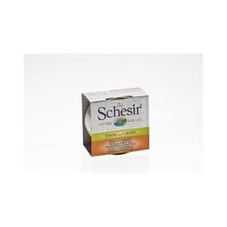 Boîte pour chat Schesir Thon Carotte + bouillon 70 g 114674
