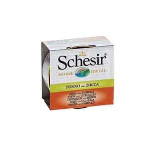 Boîte pour chat Schesir Thon Citrouille + bouillon 70 g 114675