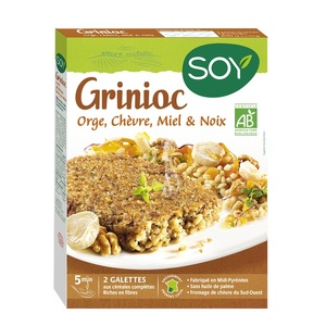 Grinioc Orge chèvre miel noix SOY
