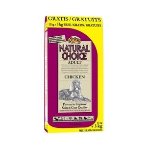 Croquette chien Natural Choice adulte poulet NUTRO 15 kg