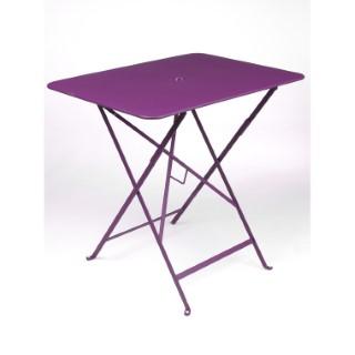 Table de jardin pliante Bistro FERMOB aubergine L77xl57xh74