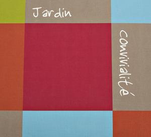 Coussins assises X 2 damier coloré