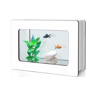 Aquarium Nano Fashion Vision H Dennerlé 13L blanc