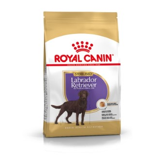 Croquette 12kg Labrador adulte sterilised Royal Canin 119080