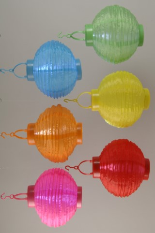 Lanterne solaire ronde