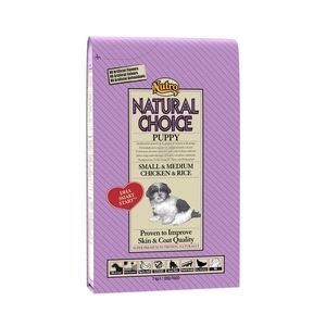 Croquette chien Natural Choice junior mini poulet NUTRO 7 kg