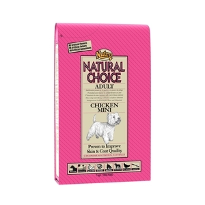 Croquette chien Natural Choice adulte mini poulet NUTRO 7 kg